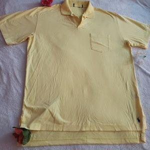 Ralph Lauren polo Shirts color yellow